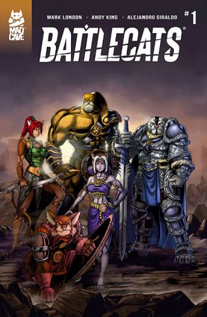 battlecats 1 cover comic