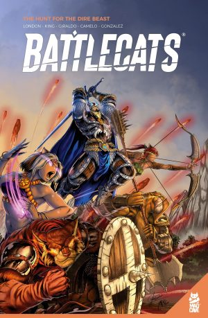 Battlecats book comic TPB