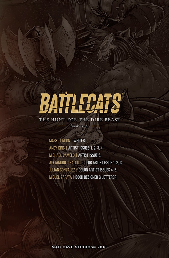 battlecats comic preview