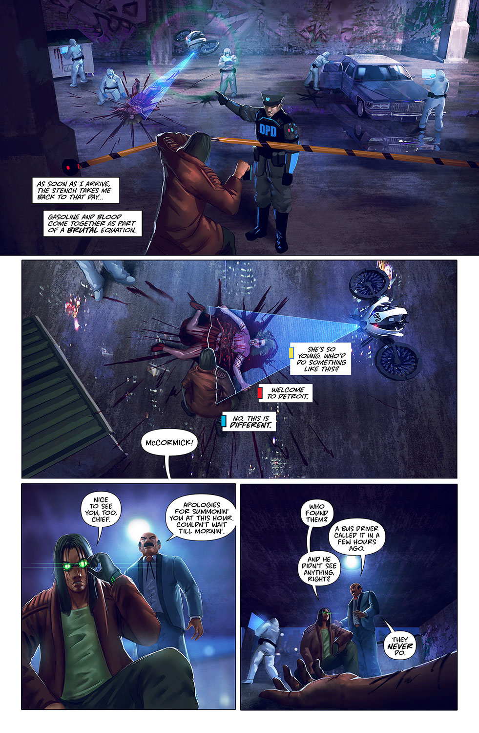 Midnight Task Force | Mad Cave Studios | Comics with a Mad Twist