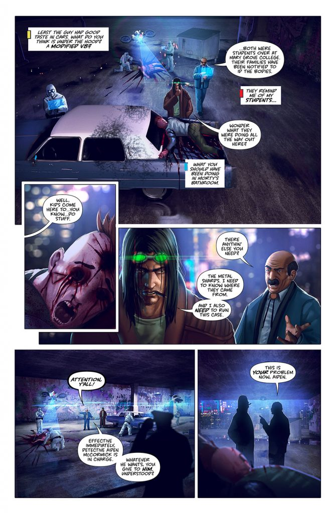midnight free comic preview