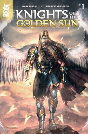 Knights of the Golden Sun comic cover
