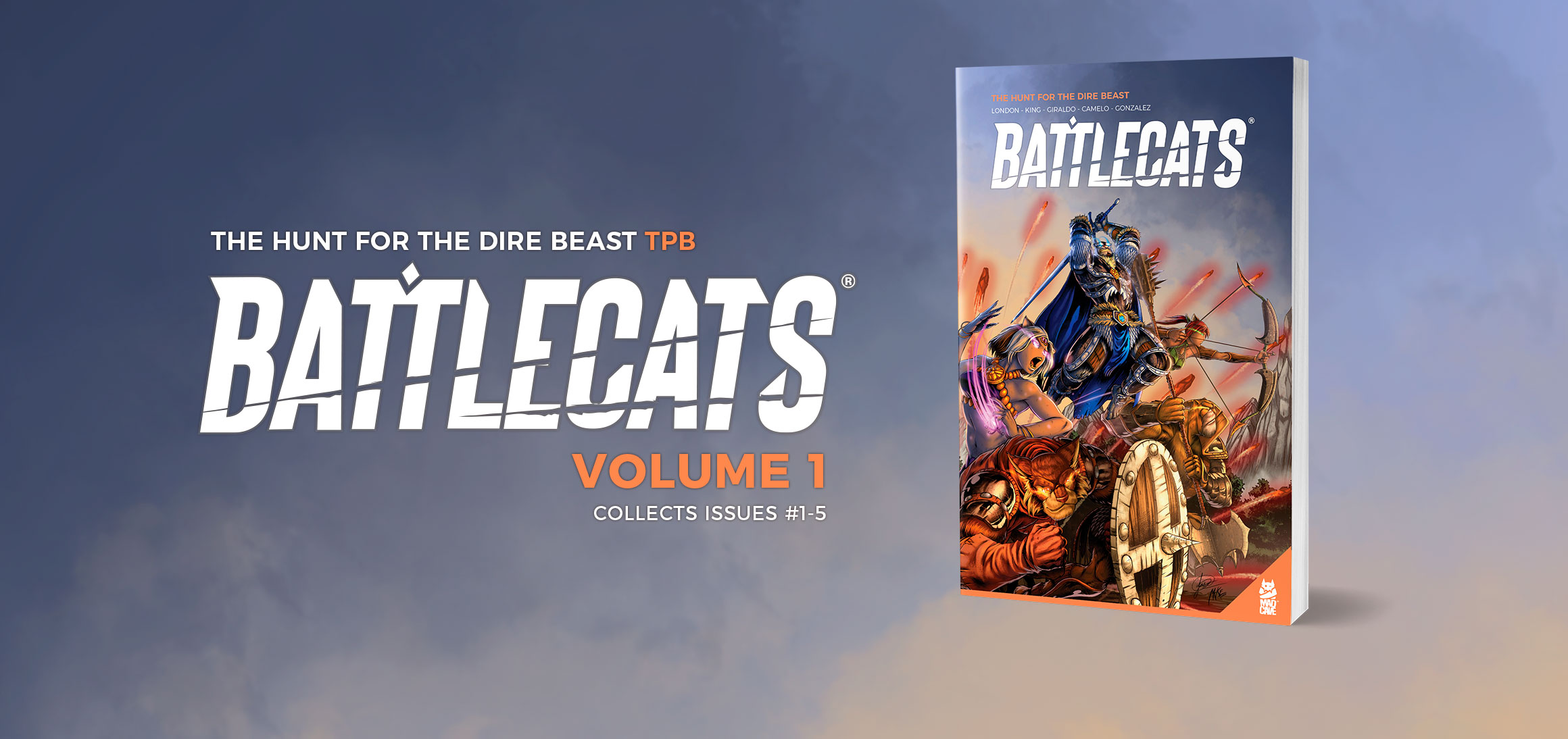 Battlecats Vol 1 cover art