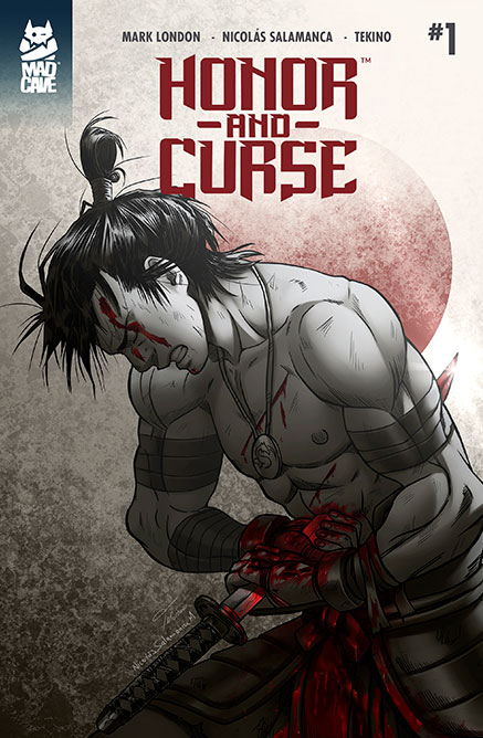 Cover Honor and Curse #1