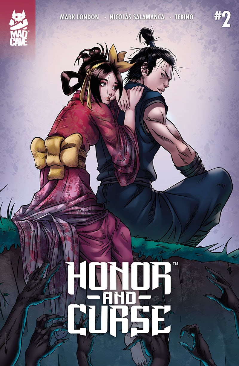 Honor and Curse #2 Cover