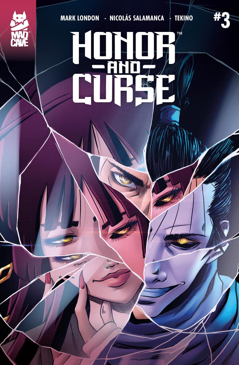 Cover Honor and Curse #3