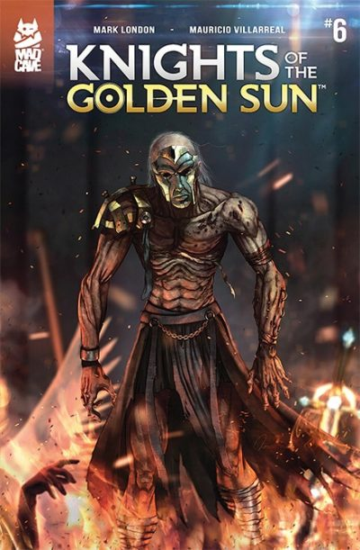 Cover Knights of The Golden Sun #6