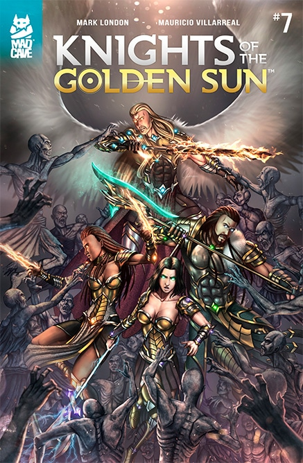 Cover Knights of the golden sun #7