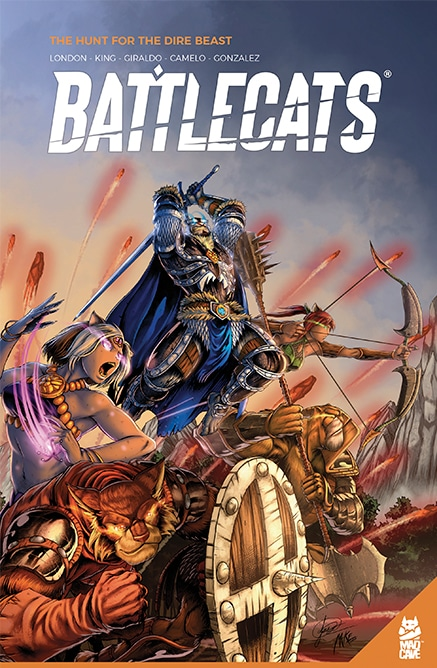 Battlecats Vol. 1 - Cover