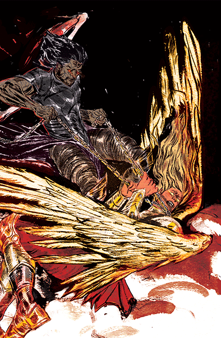 Knights of The Golden Sun #1 Vanesa del Rey Variant