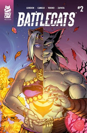 Battlecats Vol 2 #2 Cover - Mad Cave