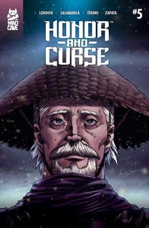 Honor and Curse #5 Cover - Mad Cave