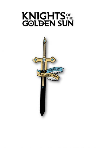 Knights of The Golden Sun Enamel Pin