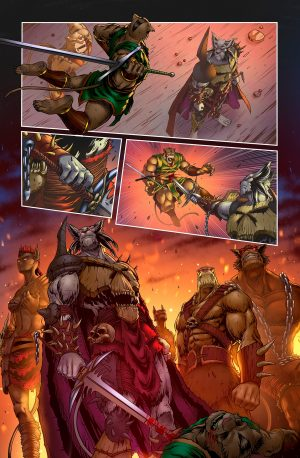 Battlecats Vol. 2 #3
