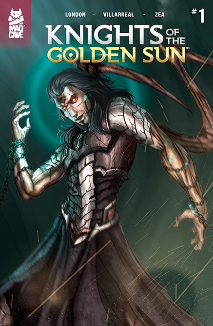 Knights of The Golden Sun #1 Second Printing - Cover - Mad Cave