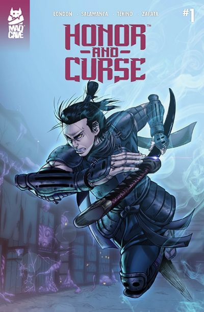 Honor and Curse #1 Second Printing - Cover - Mad Cave