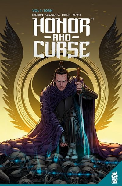 Honor and Curse Vol #1 Torn TPB - Cover - Mad Cave