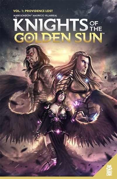Knights Of The Golden Sun Vol 1 Providence Lost - TPB - Cover - Mad Cave