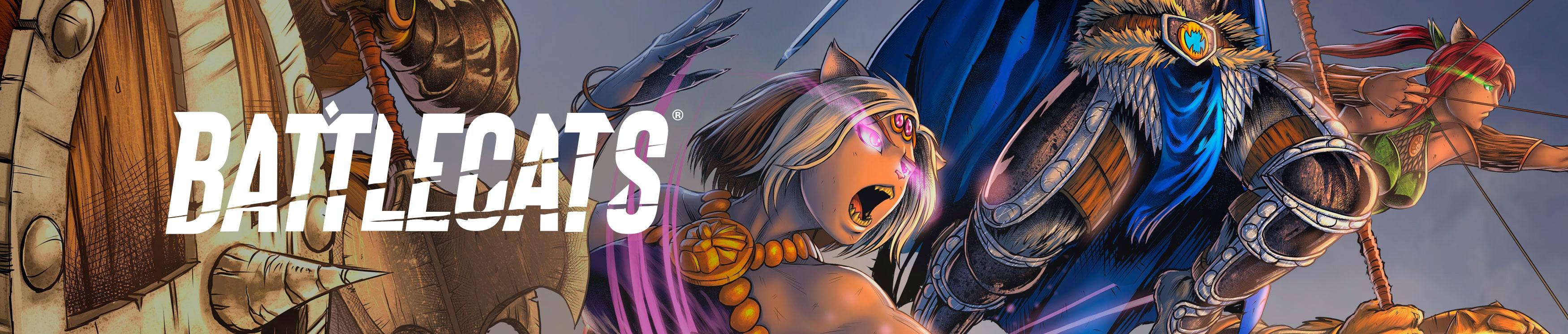 Battlecats | Mad Cave Studios | Comics with a Mad Twist