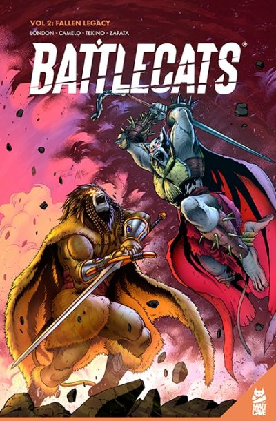 Battlecats Vol.2 Cover - Mad Cave