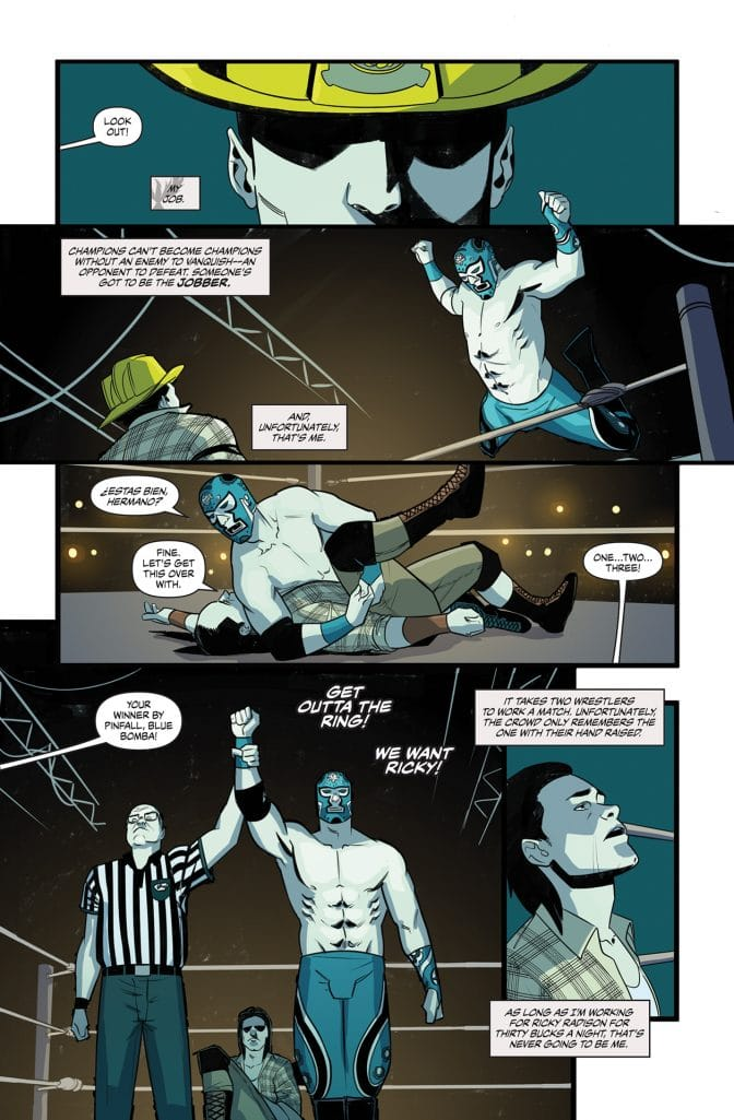 Over The Ropes #1