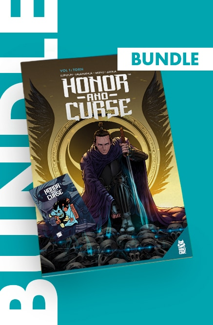Honor and Curse – Bundle (Trade + Enamel Pin)