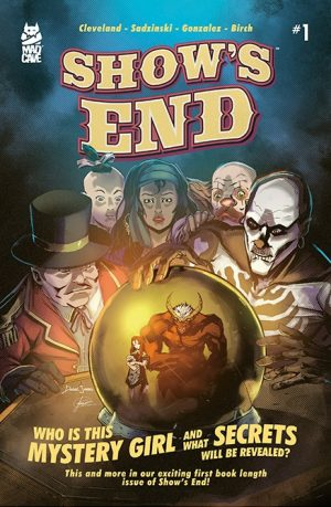 Show's End #1 Mill Geek Variant - Cover - Mad Cave