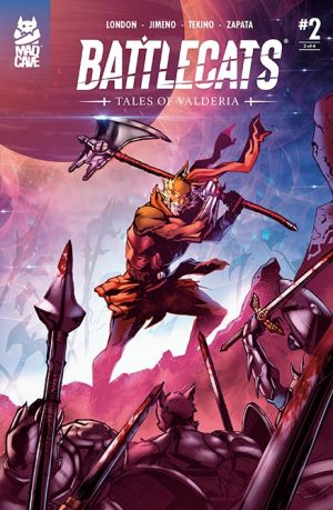 Battlecats Tales of Valderia #2 Cover - Mad Cave