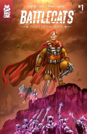 Battlecats Tales of Valderia #1 Cover - Mad Cave