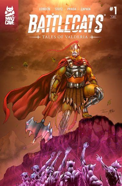Battlecats Tales of Valderia #1 Cover - Mad Cave