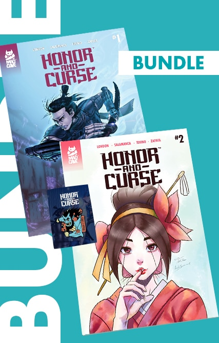Honor and Curse – Bundle (#1 – #6 + Enamel Pin)