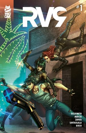 RV9 #1 - Variant - Indie Spotlight - Cover - Mad Cave