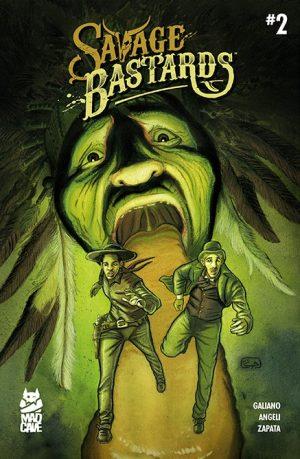Savage Bastards #2 Cover - Mad Cave