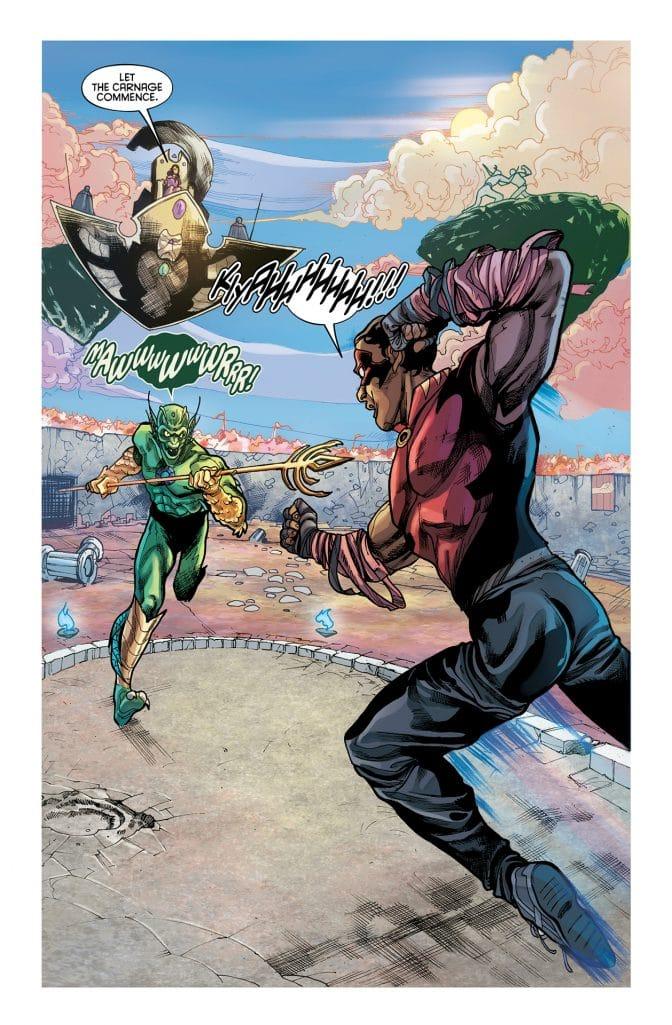 new series Hellfighter Quin