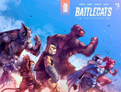 Battlecats Tales of Valderia #3 Cover Full