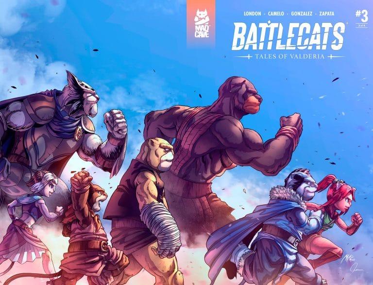 Battlecats Tales of Valderia #3 Cover Full