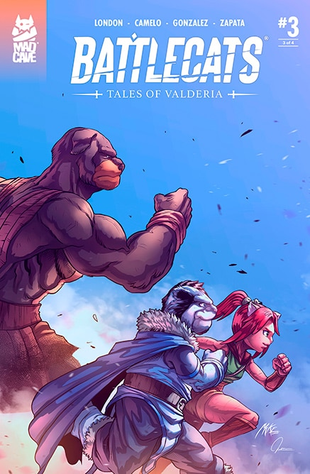 Battlecats: Tales of Valderia #3 | Pre-Order
