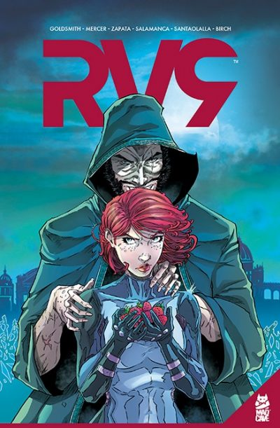 RV9 TPB Cover - Mad Cave