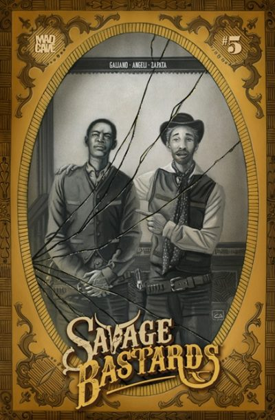 Savage Bastards #5 Cover - Mad Cave
