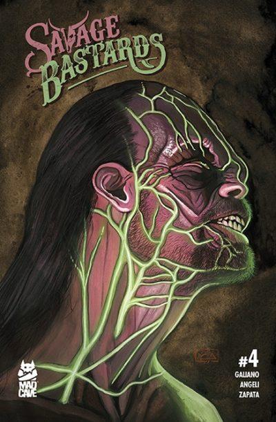 Savage Bastards #4 Cover - Mad Cave