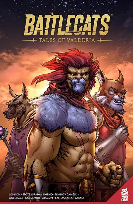 Battlecats: Tales of Valderia Vol. 1 | Pre-Order