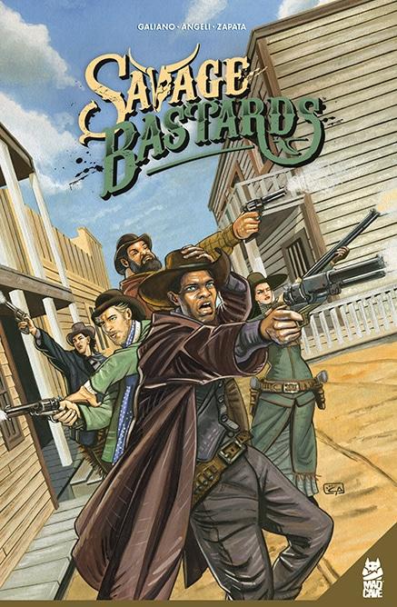 Savage Bastards - Cover