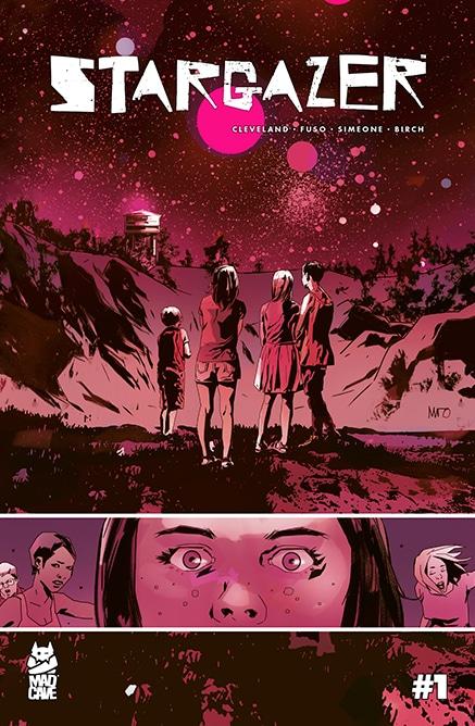 Stargazer #1 - Cover