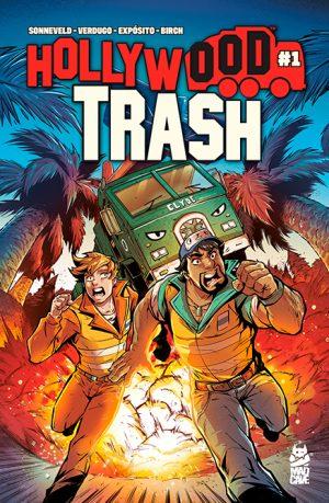 Hollywood Trash #1 - Cover