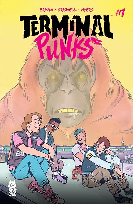 Terminal Punks #1 - Cover