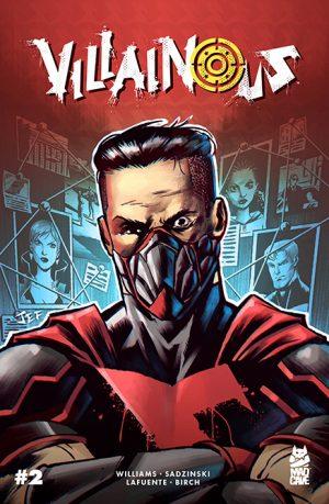 Villainous #2 - Cover