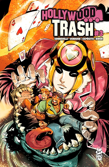 Hollywood Trash #3 - Cover