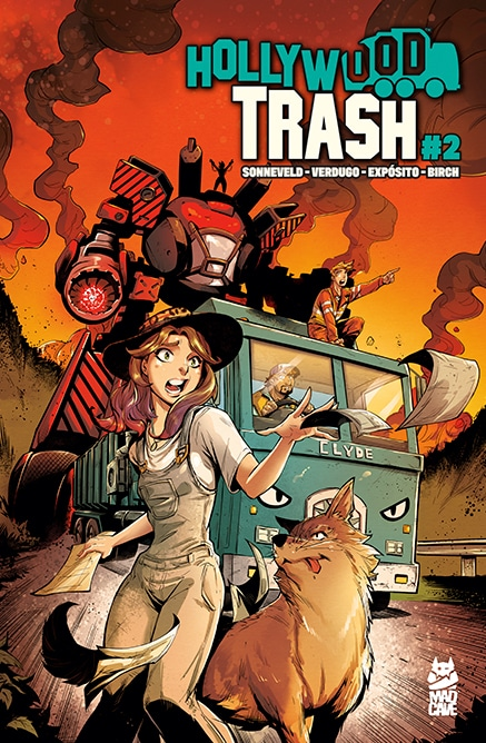 Hollywood Trash - 2 - Cover