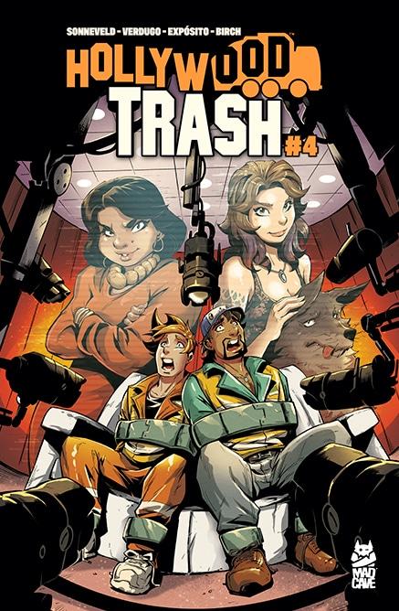 Hollywood Trash - 4 - Cover