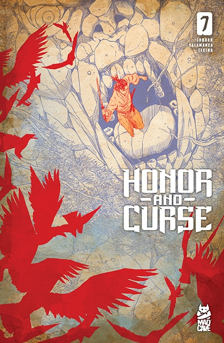 Honor and Curse 7 - Cover